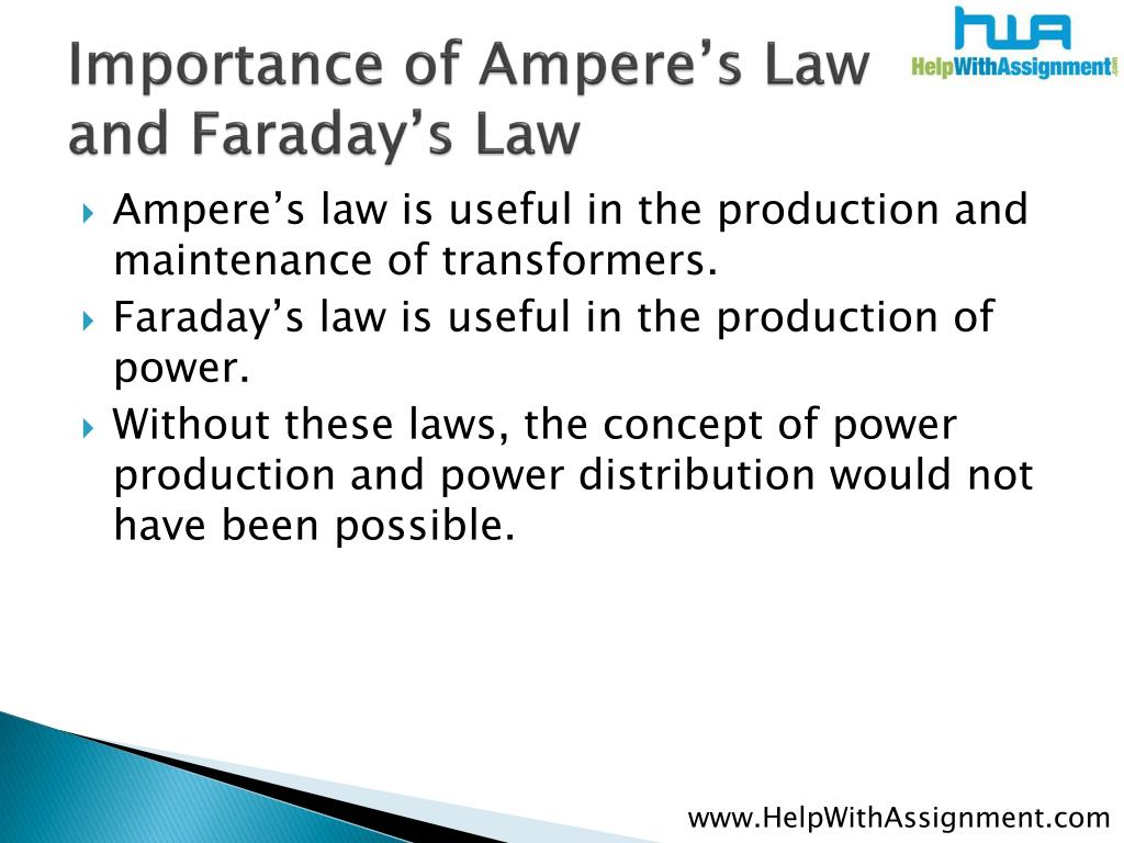Importance of Ampere's Law and Faraday's Law