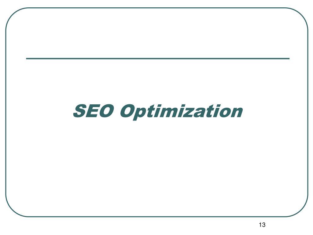 SEO Optimization