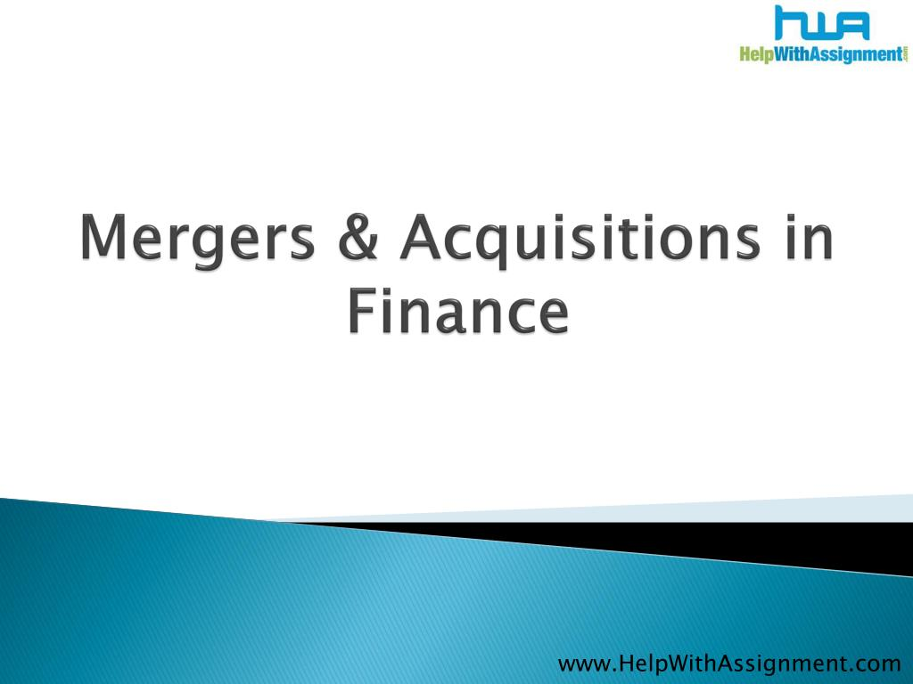 Mergers & Acquisitions in
