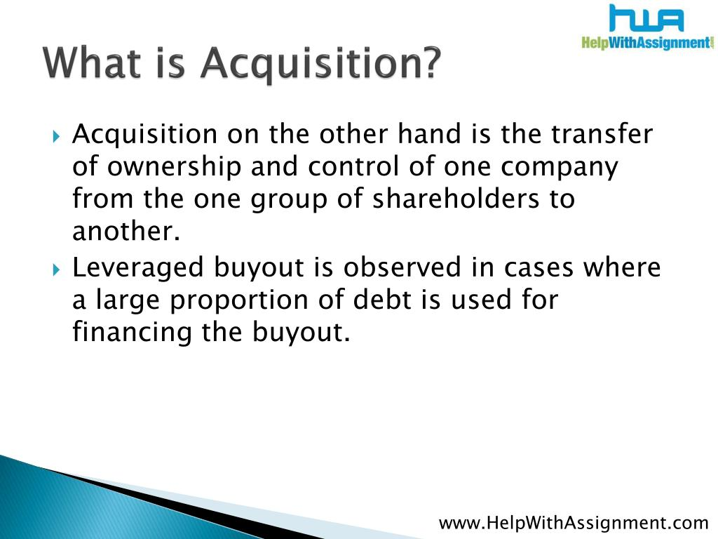 What is Acquisition?