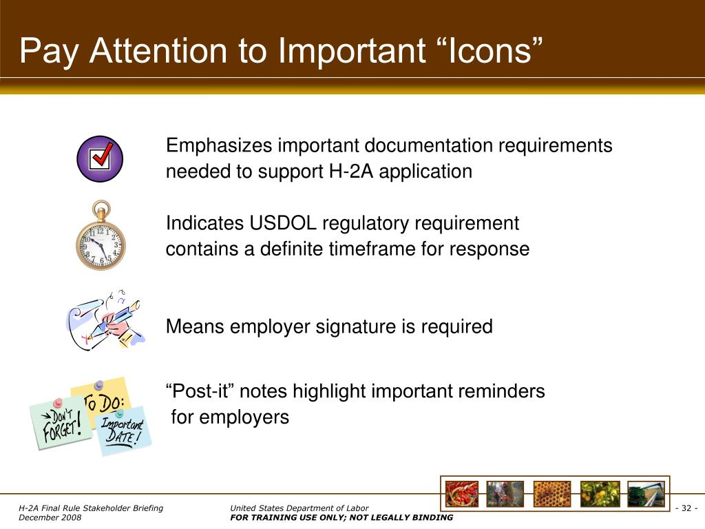 """Pay Attention to Important """"Icons"""""""
