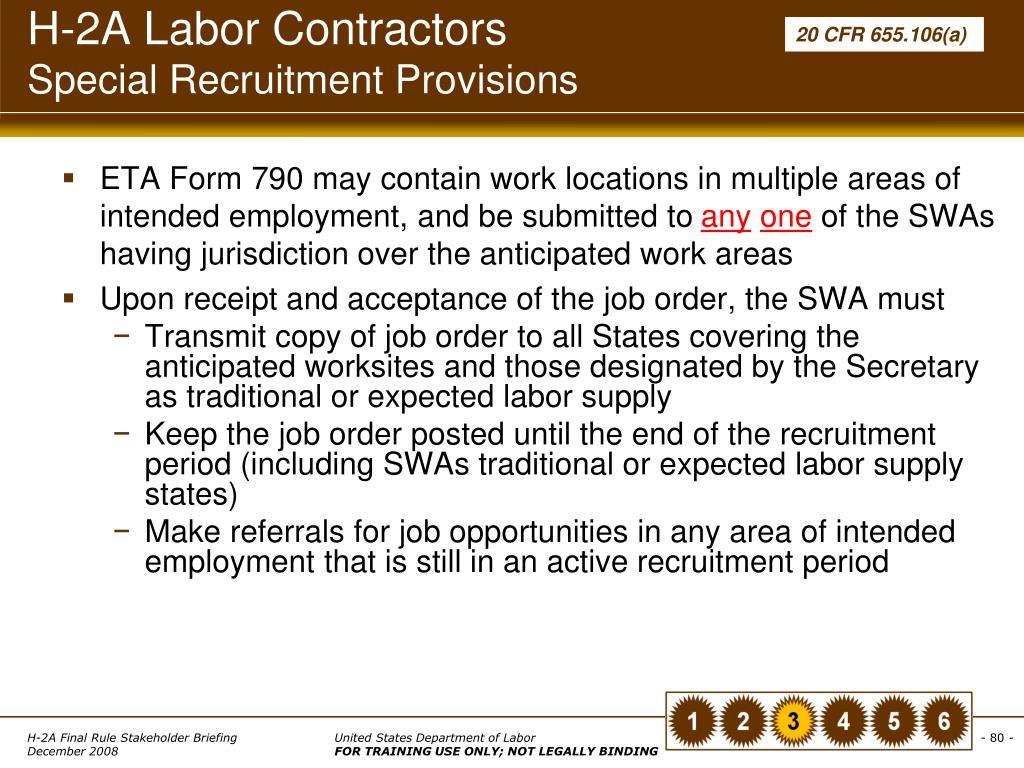 H-2A Labor Contractors