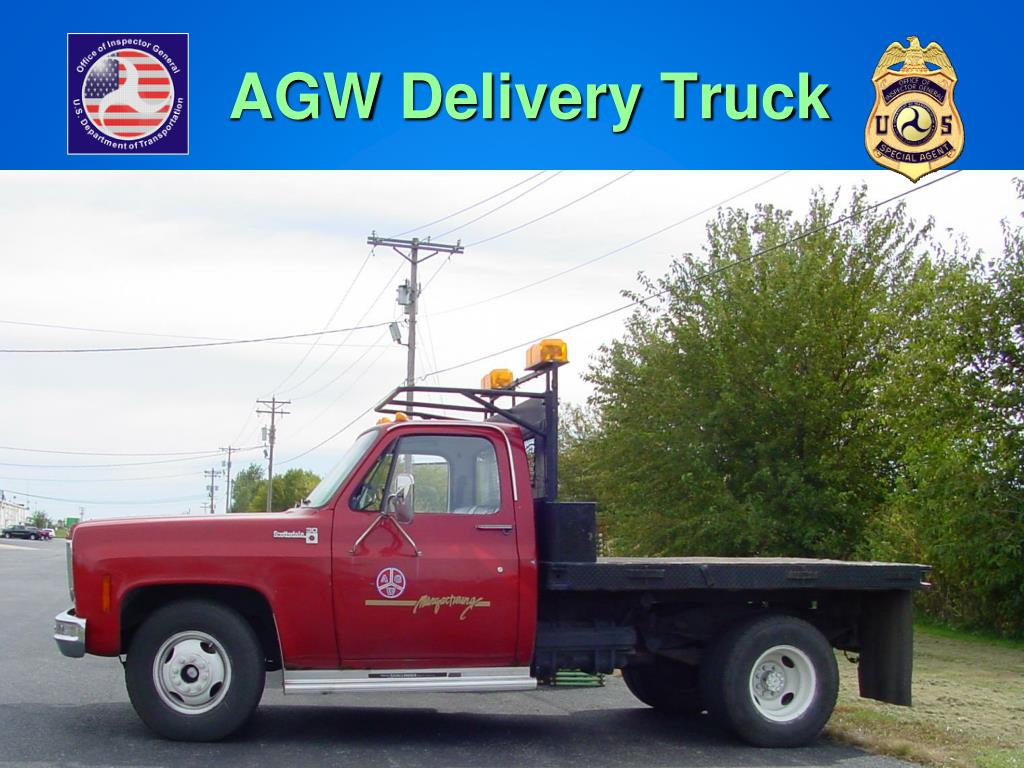 AGW Delivery Truck