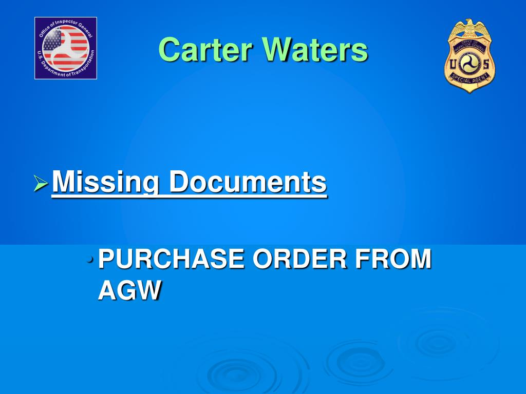 Carter Waters