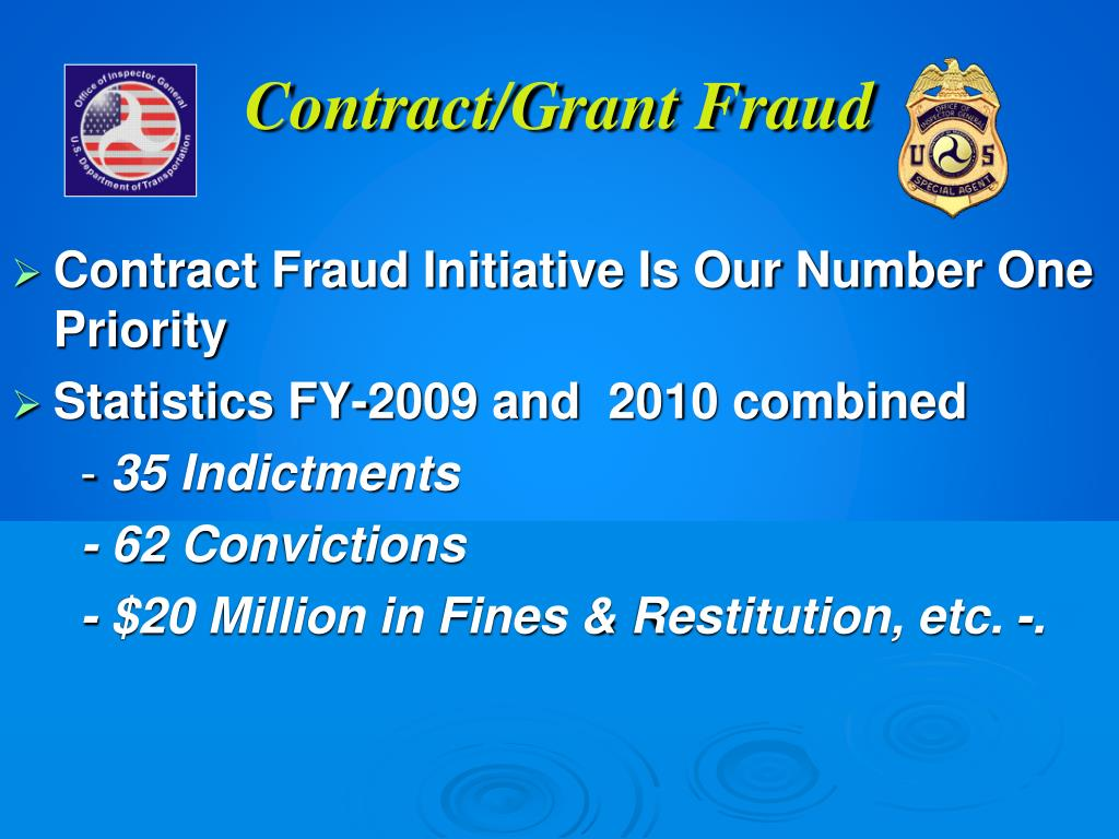 Contract/Grant Fraud