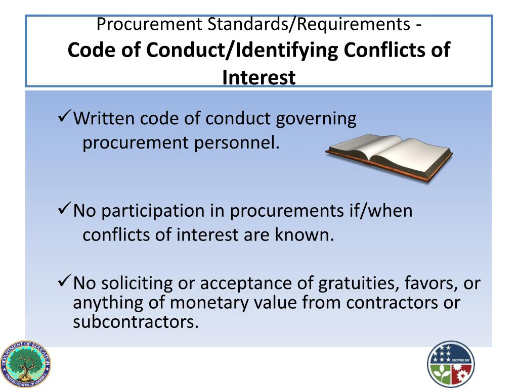 Procurement Standards/Requirements -