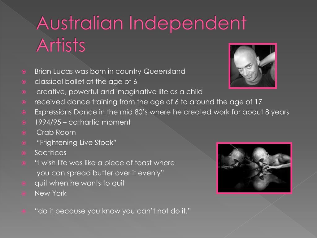 Australian Independent Artists