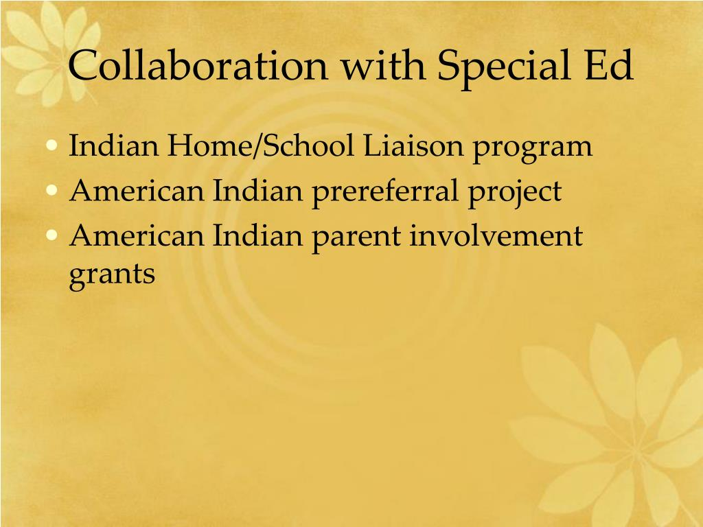 Collaboration with Special Ed