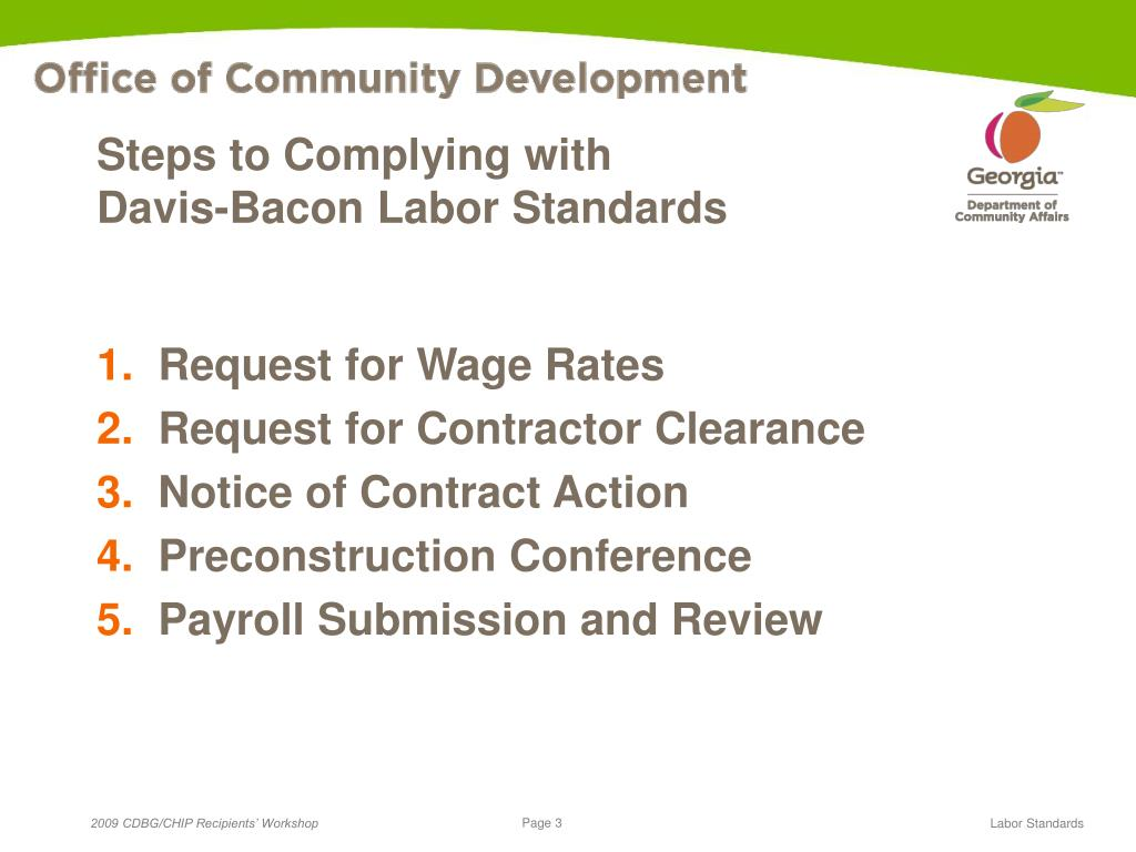 Steps to Complying with