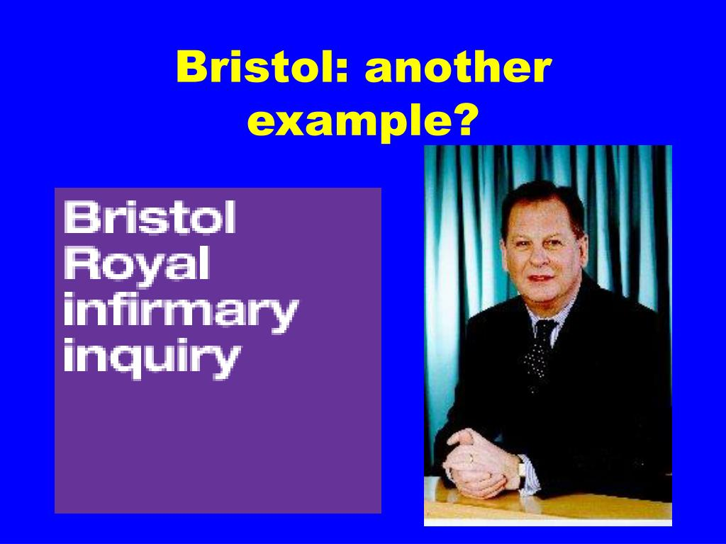Bristol: another  example?