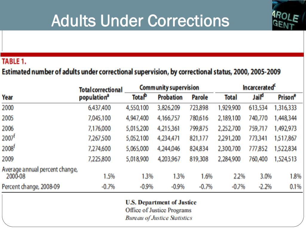 Adults Under Corrections