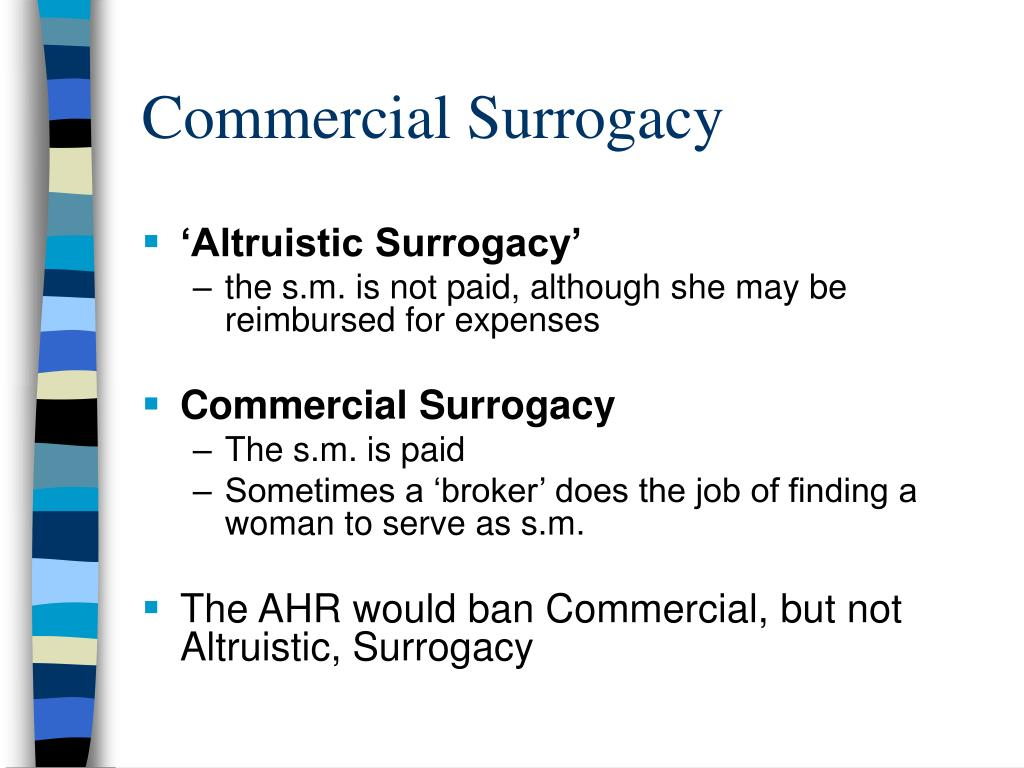 Commercial Surrogacy
