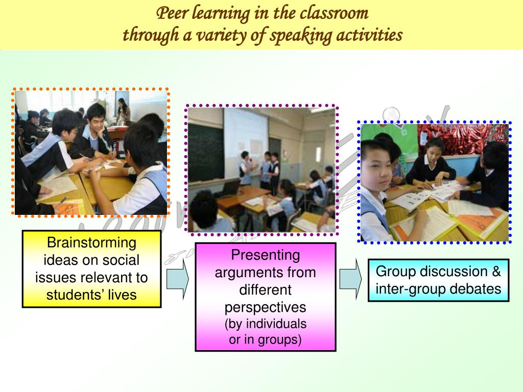 Peer learning in the classroom