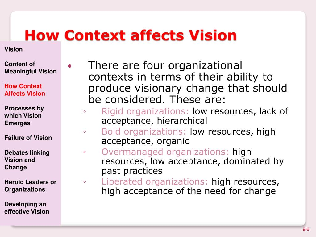 linking vision and change Linking vision with strategy and implementation, but prepare for disruption   over the years i've seen the importance of defining a vision for where  one is  forced to change vision or strategy due to disruption, it is something.