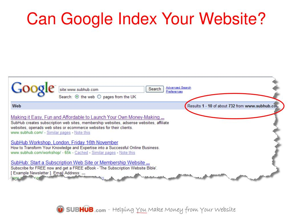 Can Google Index Your Website?