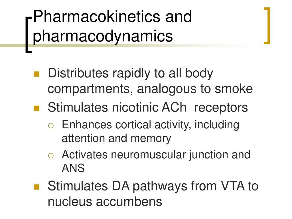 Pharmacokinetics and pharmacodynamics