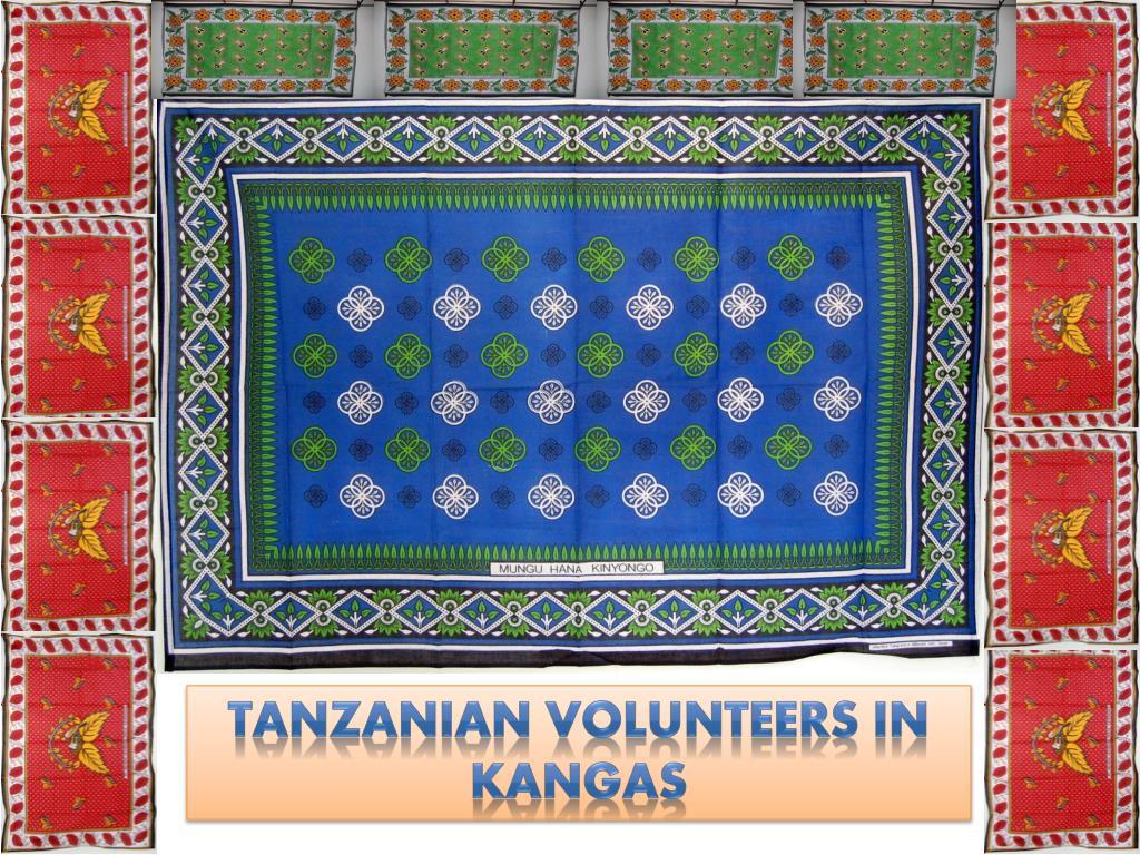 Tanzanian Volunteers