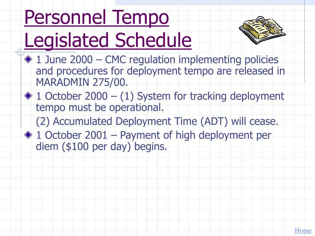 Personnel Tempo