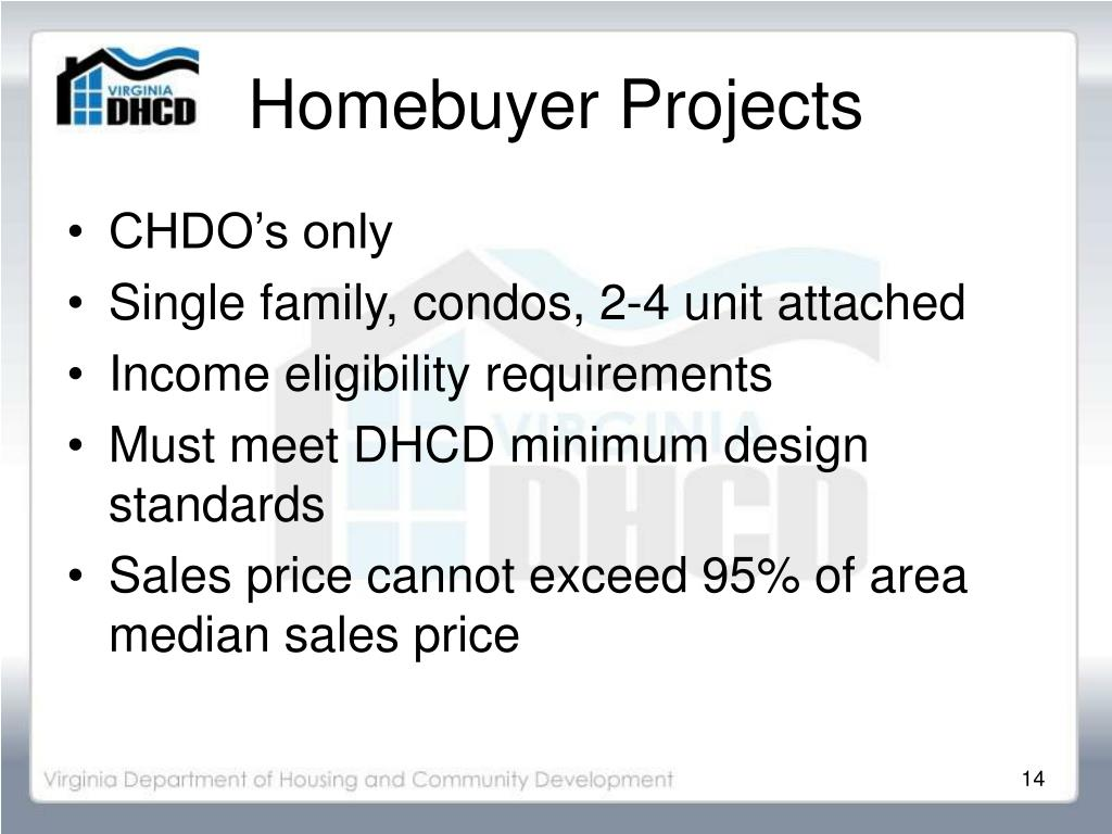 Homebuyer Projects