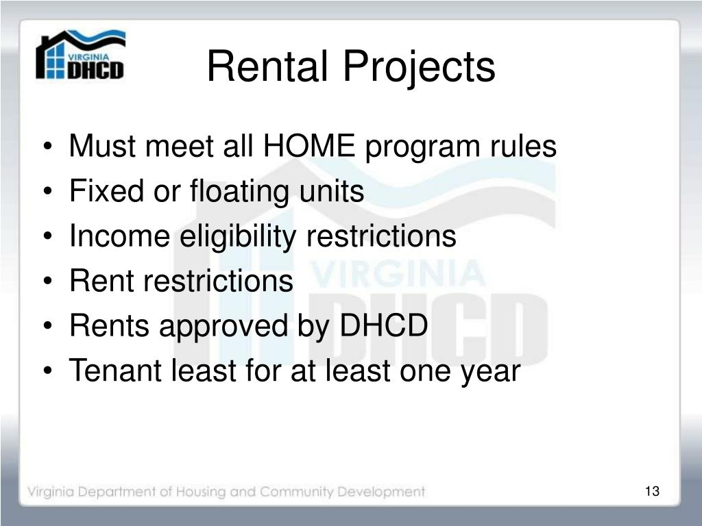 Rental Projects