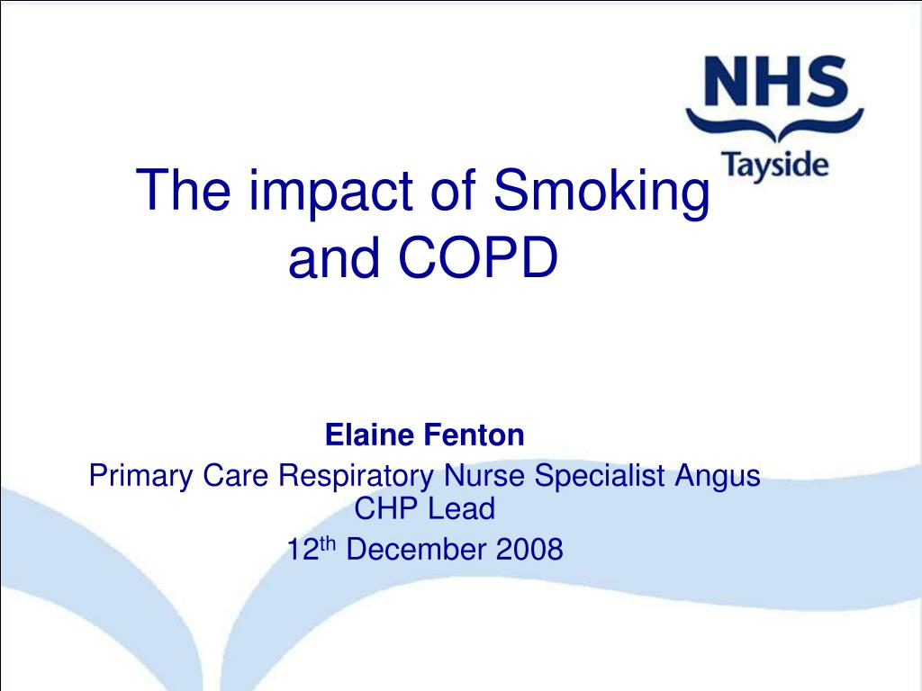 The impact of Smoking and COPD