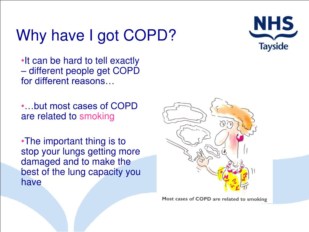 Why have I got COPD?