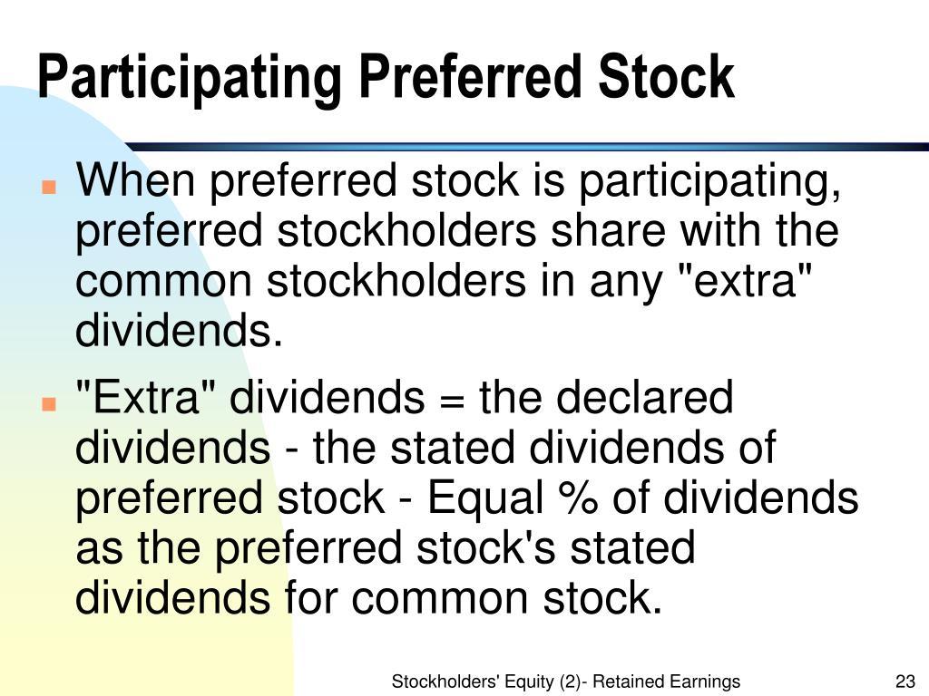 Participating Preferred Stock