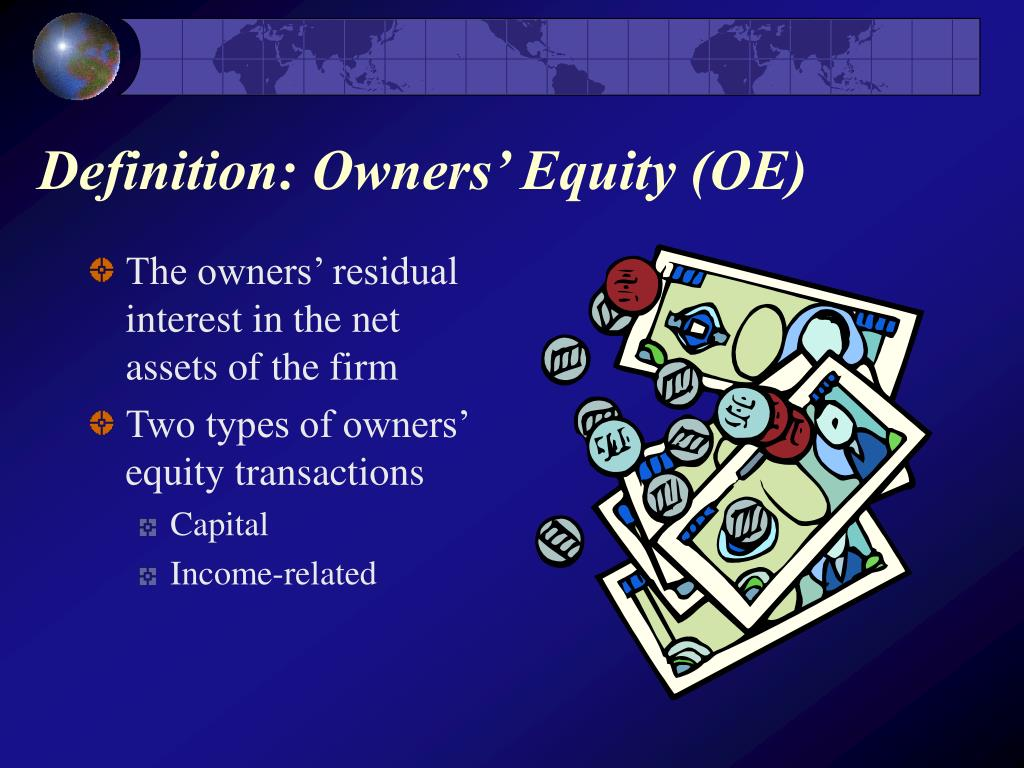 Definition: Owners' Equity (OE)