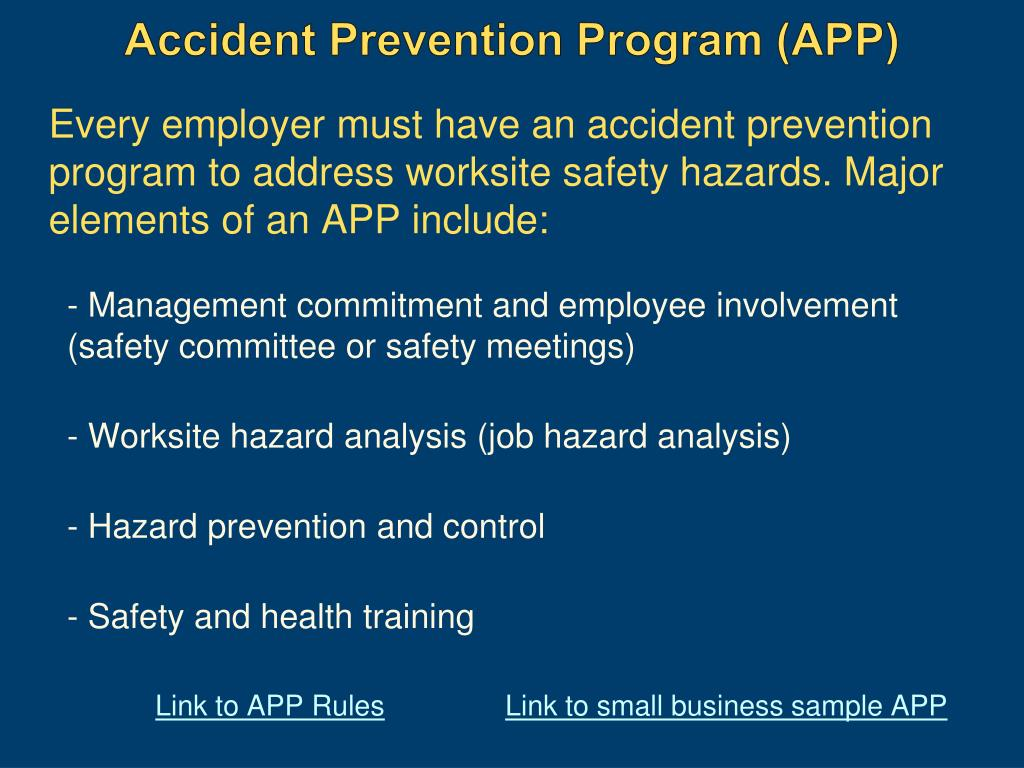 accident prevention essay study Crime prevention essay a study on the prevention of computed tomography artifacts interventions and policies for airline accident prevention.