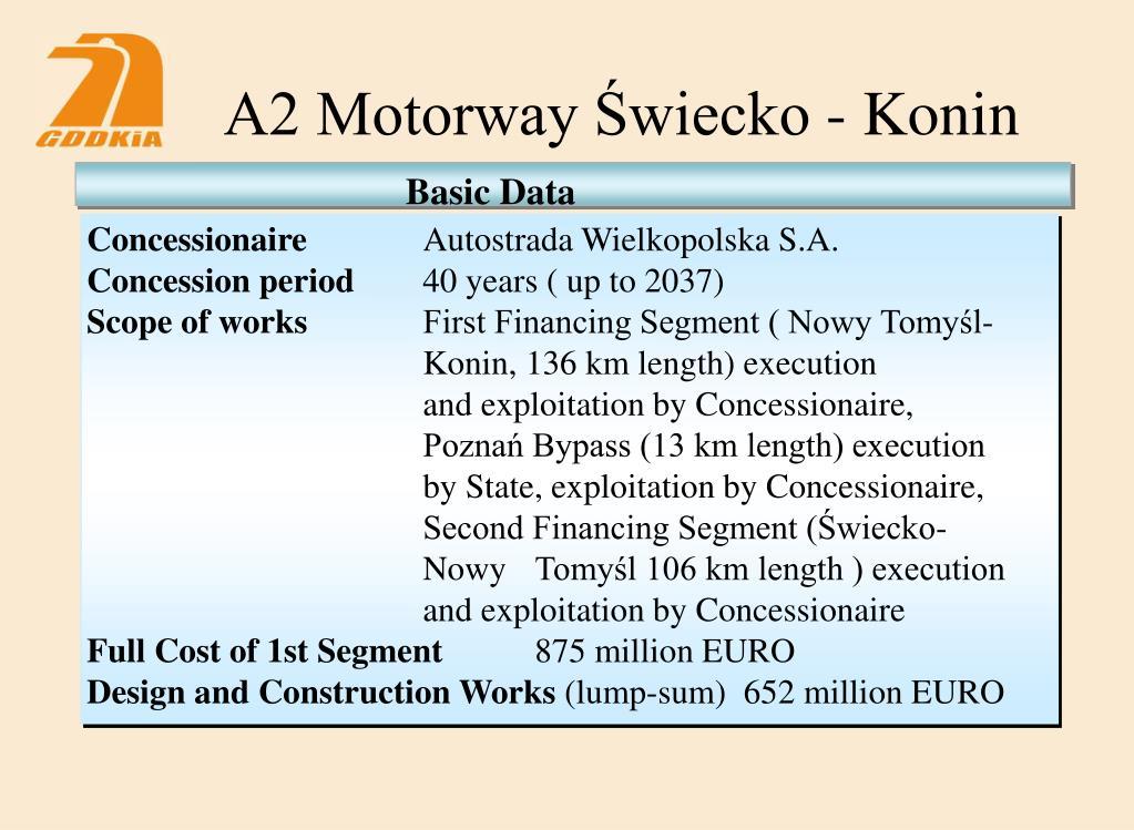 A2 Motorway Świecko - Konin