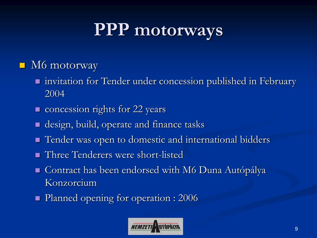 PPP motorways