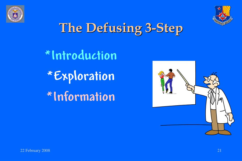 The Defusing 3-Step