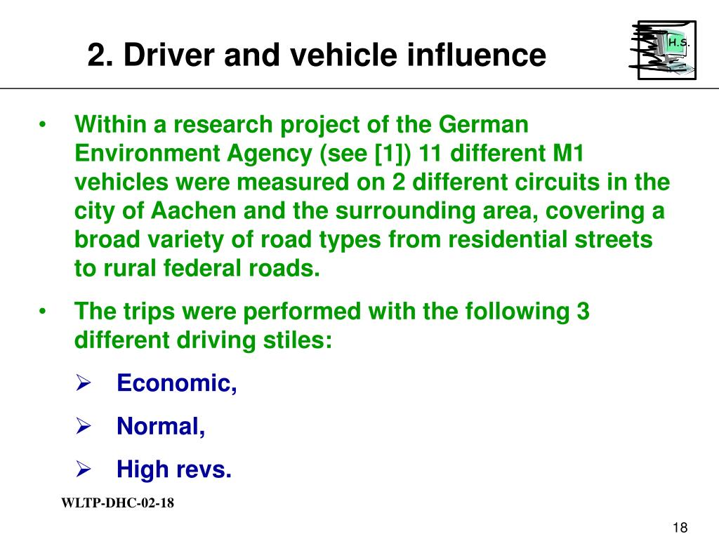2. Driver and vehicle influence