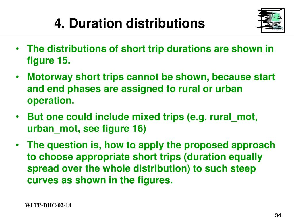 4. Duration distributions