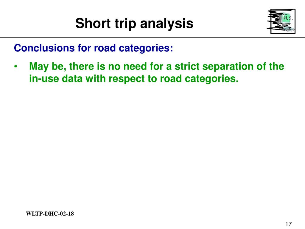 Short trip analysis