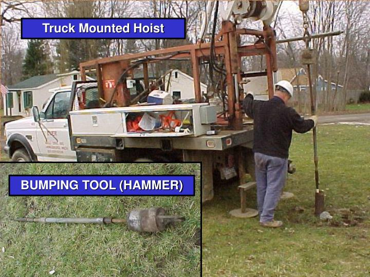 Truck Mounted Hoist