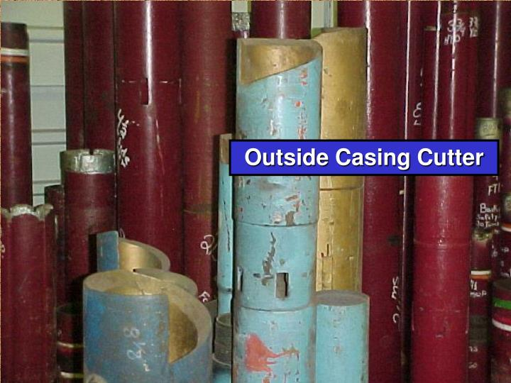 Outside Casing Cutter