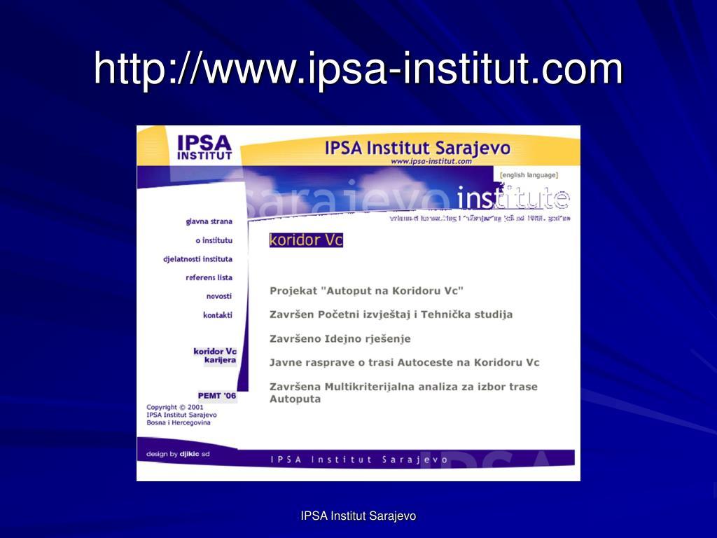 http://www.ipsa-institut.com