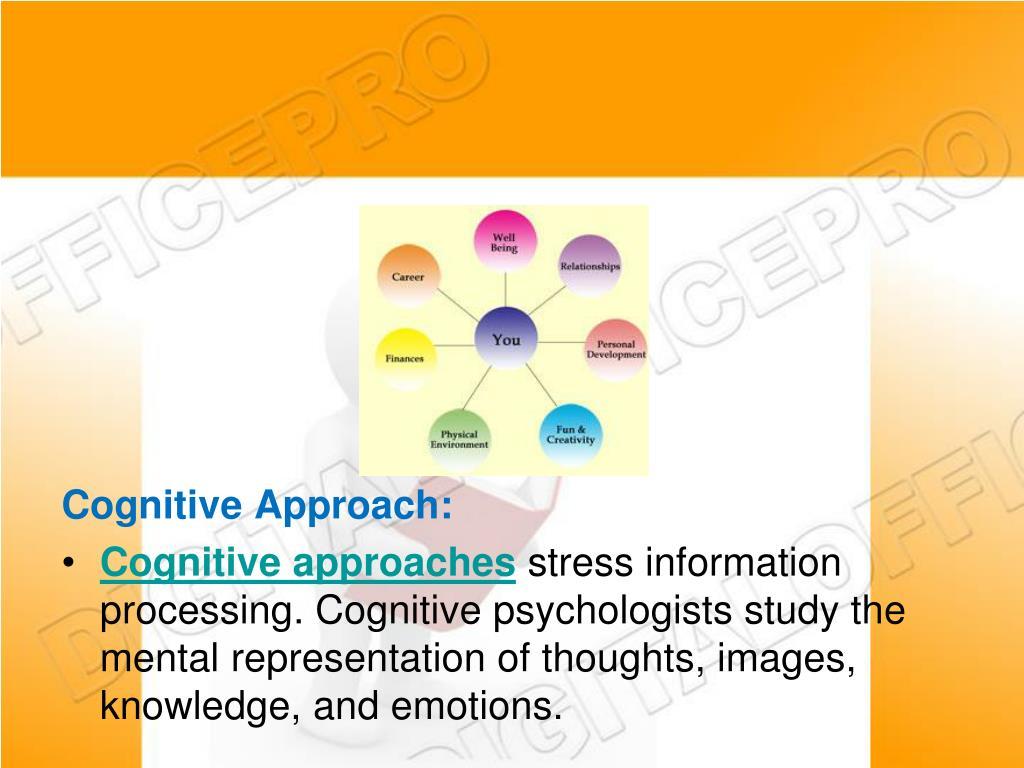 Cognitive Approach: