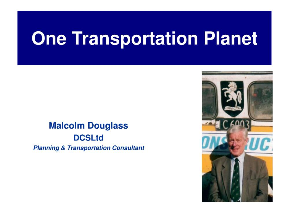 One Transportation Planet