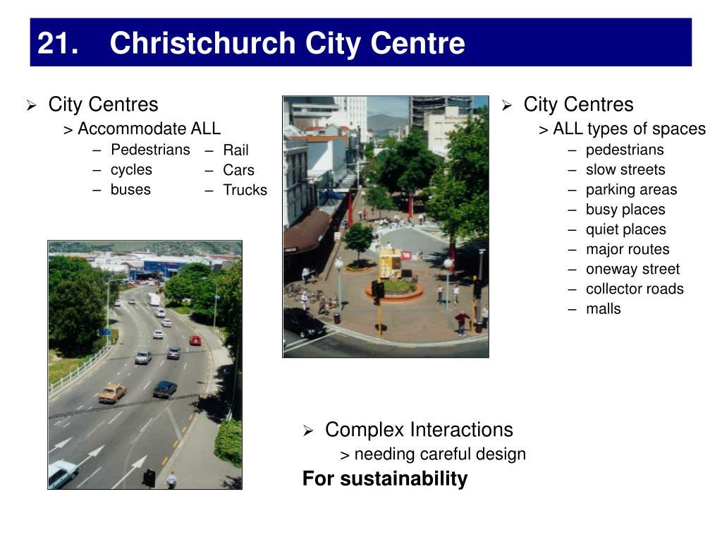 City Centres