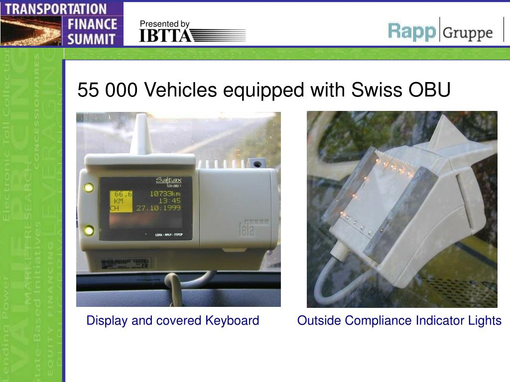 55 000 Vehicles equipped with Swiss OBU