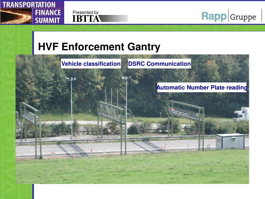 HVF Enforcement Gantry