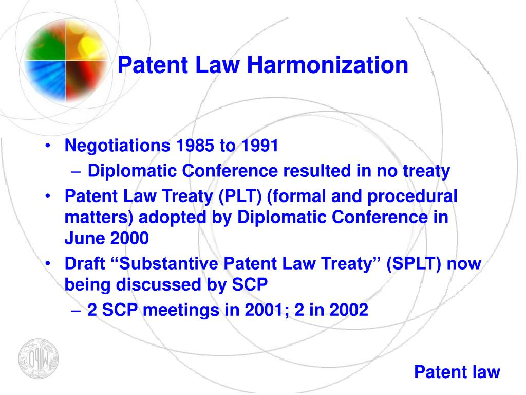 Patent Law Harmonization