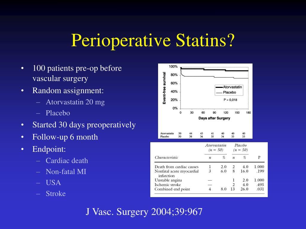 Perioperative Statins?