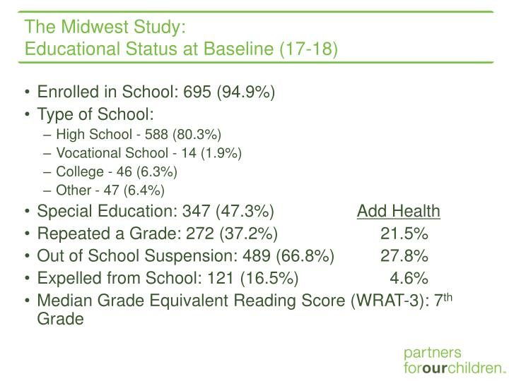The Midwest Study: