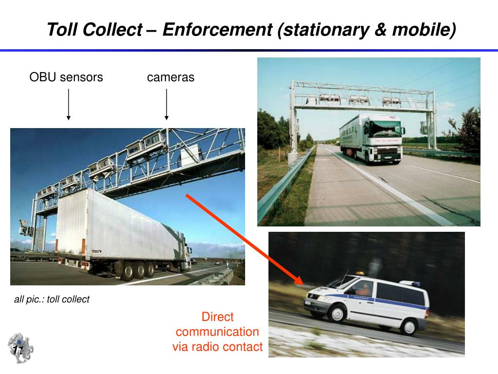 Toll Collect – Enforcement (stationary & mobile)