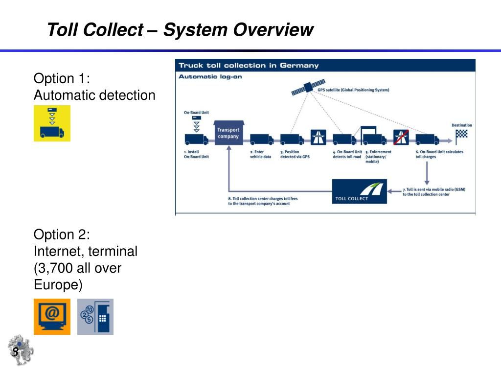 Toll Collect – System Overview