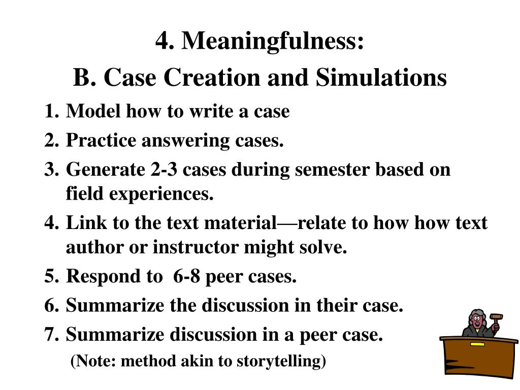 4. Meaningfulness:
