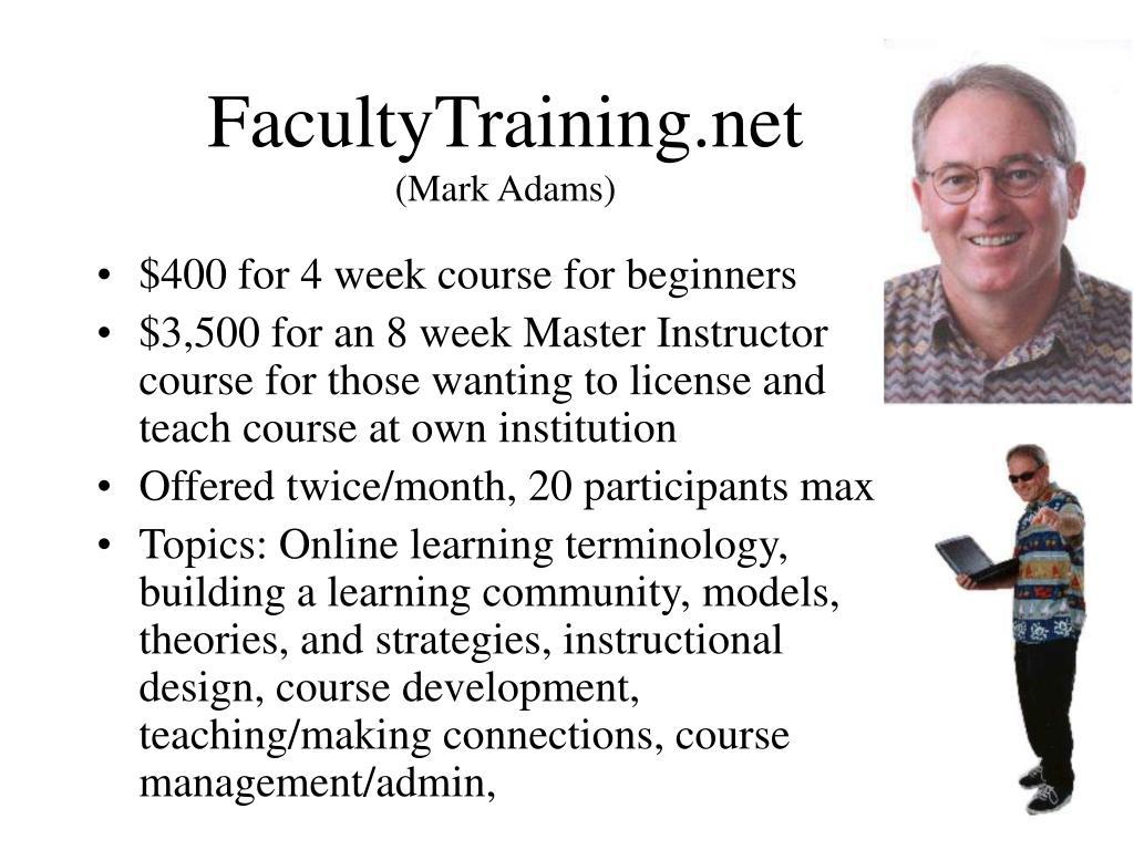 FacultyTraining.net
